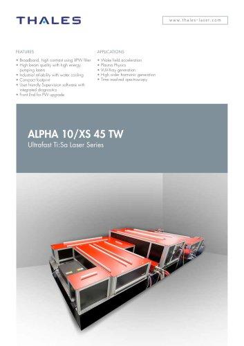 Alpha 10/XS 45 TW