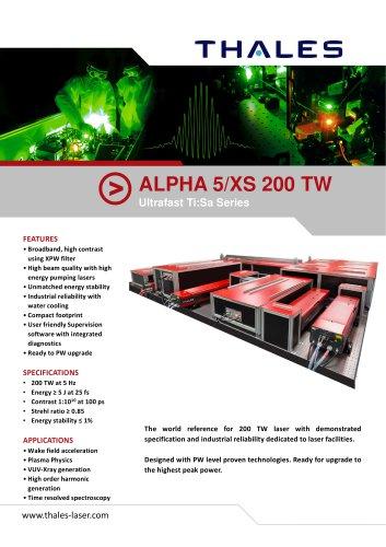 ALPHA 5/XS 200 TW