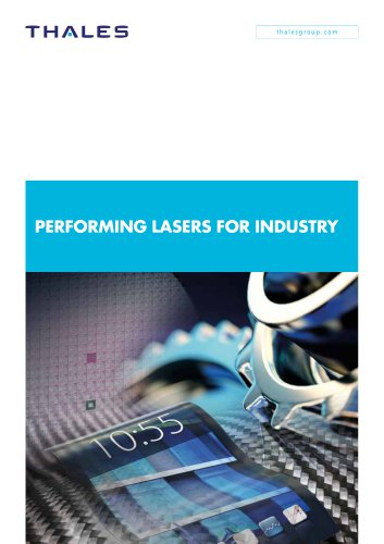 Performing lasers for industry