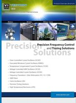 Precision Frequency Control and Timing Solutions