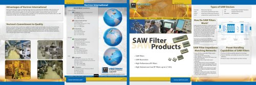 SAW Filter Products