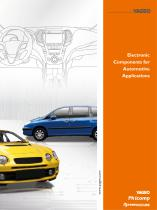 Electronic Components for Automotive Applications - 1