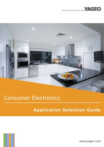 Electronic	Components for Consumer Electronics
