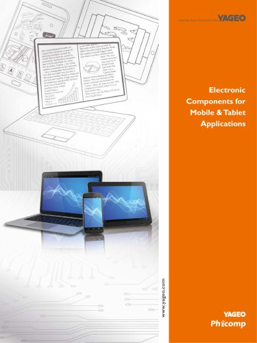 ElectronicComponents forMobile & TabletApplications