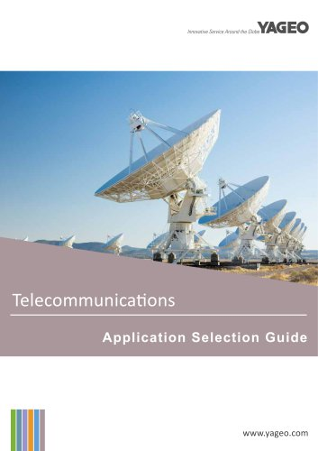 ElectronicComponents for Telecommunications Applications