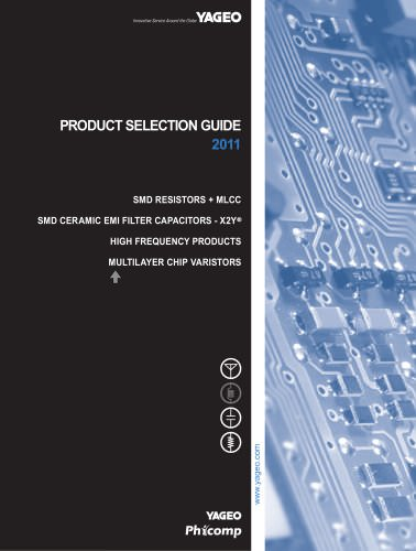 Product Selection Guide 2011
