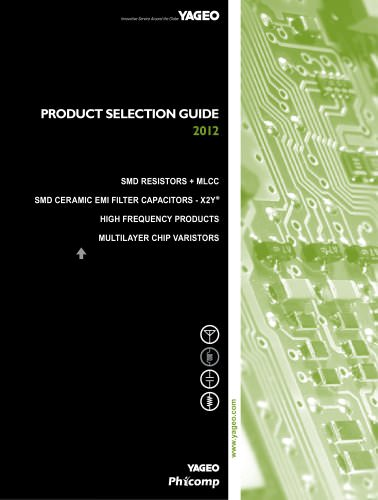 Product Selection Guide 2012