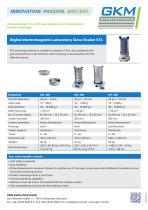 Laboratory Sieve Shaker (KTL)