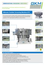 Ultimate Tumbler Screening Machine (KTS)