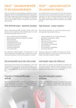 SPECIAL LUBRICANTS for the automotive industry - 2
