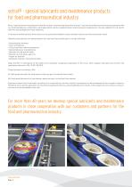 special lubricants & maintenance products food industry - 2