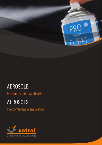 TECHNICAL AEROSOLS FOR WORKSHOP AND MAINTENANCE