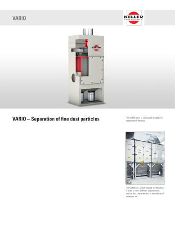 Dry separator VARIO 2014