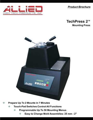Techpress 2 Allied High Tech Products Pdf Catalogs Technical Documentation Brochure