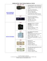 Fiber Optic Solutions from S.I. Tech - 2