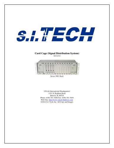 Signal Distribution Systems