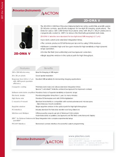 2D-OMA V Product Flyer