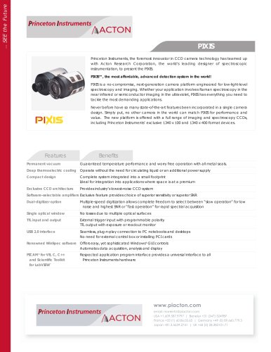 PIXIS Product Flyer