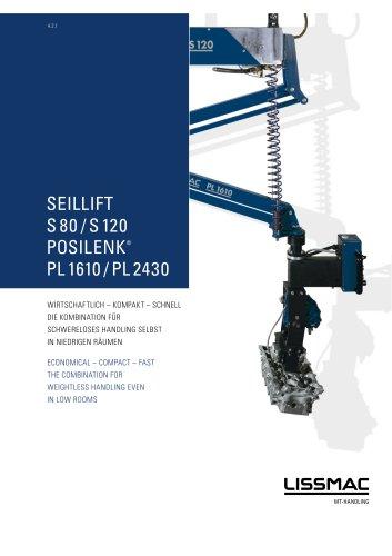 SEILLIFT 80/120, POSILENK 1610/2430