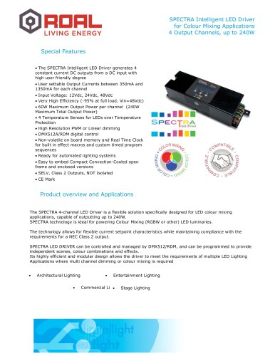 SPECTRA LED Driver
