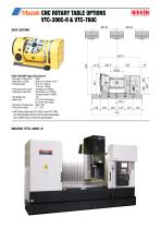 CNC ROTARY TABLE BROCHURE FOR MAZAK VCS & VTC VERTICAL MACHINING CENTRES - 10