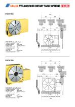 CNC ROTARY TABLE BROCHURE FOR MAZAK VCS & VTC VERTICAL MACHINING CENTRES - 11