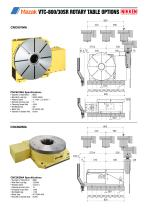 CNC ROTARY TABLE BROCHURE FOR MAZAK VCS & VTC VERTICAL MACHINING CENTRES - 12