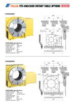 CNC ROTARY TABLE BROCHURE FOR MAZAK VCS & VTC VERTICAL MACHINING CENTRES - 13