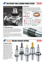 CNC ROTARY TABLE BROCHURE FOR MAZAK VCS & VTC VERTICAL MACHINING CENTRES - 2