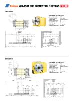 CNC ROTARY TABLE BROCHURE FOR MAZAK VCS & VTC VERTICAL MACHINING CENTRES - 3