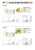 CNC ROTARY TABLE BROCHURE FOR MAZAK VCS & VTC VERTICAL MACHINING CENTRES - 5