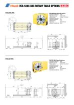 CNC ROTARY TABLE BROCHURE FOR MAZAK VCS & VTC VERTICAL MACHINING CENTRES - 6