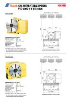 CNC ROTARY TABLE BROCHURE FOR MAZAK VCS & VTC VERTICAL MACHINING CENTRES - 8
