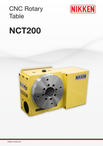 NCT200 4TH AXIS CNC ROTARY TABLE