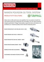 NIKKEN POLYGON C6 TOOL SYSTEM - 2