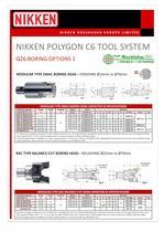 NIKKEN POLYGON C6 TOOL SYSTEM - 8
