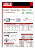 NIKKEN POLYGON C6 TOOL SYSTEM - 9