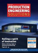 PES MARCH 2016 - HAILING A SPIRIT OF INNOVATION - 1