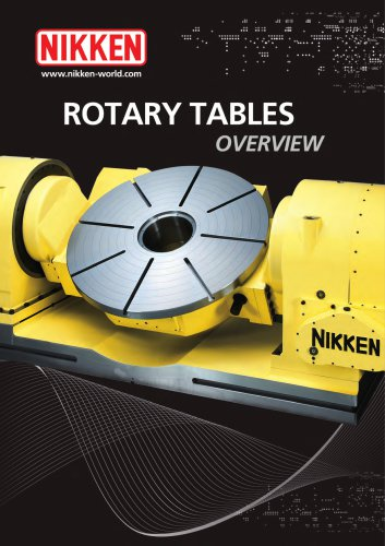 Rotary Table Overview