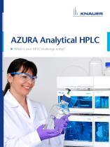 AZURA Analytical HPLC brochure