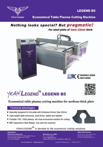 B5 Economical Table Plasma CNC Cutting Machines