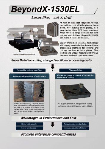 BeyondX-1530EL Laser-like cutting machine