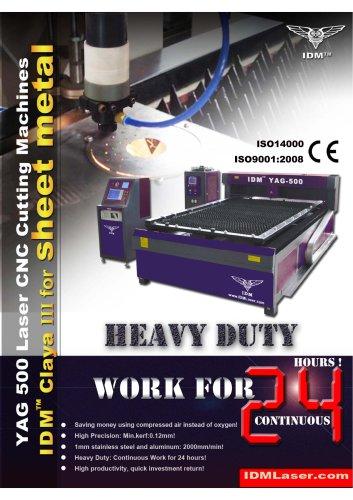 Claya III Sheet metal laser cutting machines