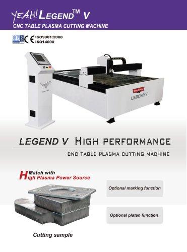 LEGEDN V CNC Talbe Plasma Cutting Machine