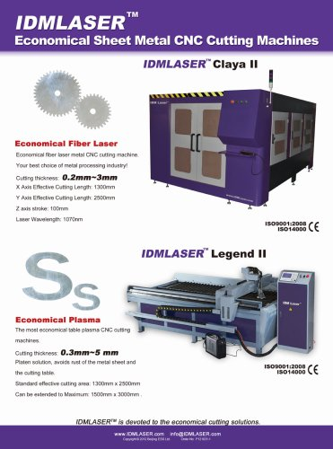 Sheet Metal CNC cutting Machines---English family