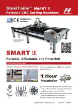 SmartIII-Portable  CNC Cutting Machines with QR Code