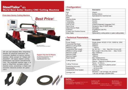 SteelTailor G3 High Performance gantry cutting machine-en