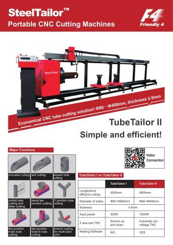TubeTailorII CNC tube cutting machine