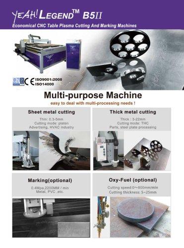 Yeah!Legend B5II Economical Table CNC Plasma Cutting Machines with QR Code