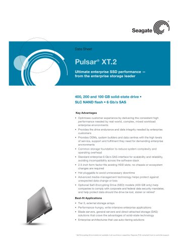 Pulsar XT Solid State Drives